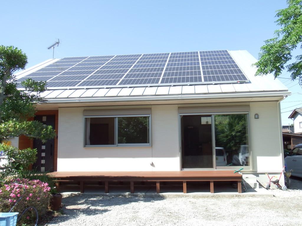 茨城に誕生した自然素材の家外観