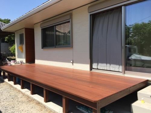 茨城に誕生した自然素材の家ワイドな掃き出し窓