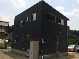 エコキュートを配備したオール電化住宅