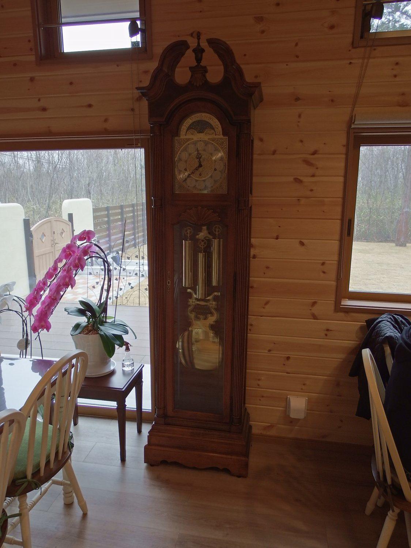 古時計のある部屋
