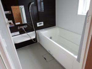 モノクロのお風呂