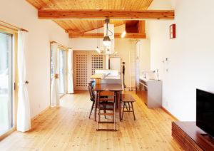 開放感のあるキッチン