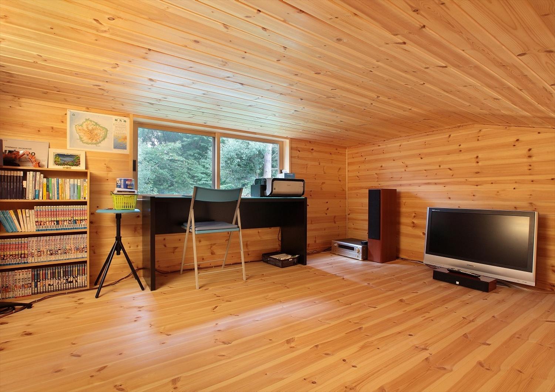落ち着いた空間の書斎