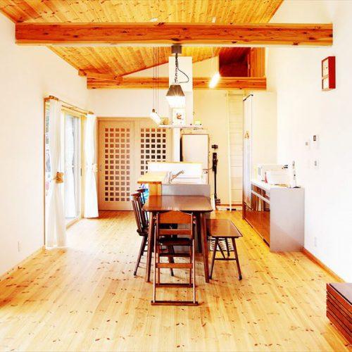 かすみがうら市の平屋|家族で暮らすナチュラルテイスト住宅