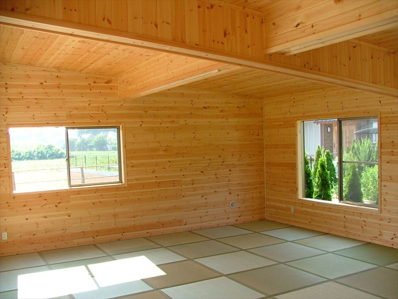 畳コーナー2|ログハウスのような木の家を低価格で建てるならエイ・ワン