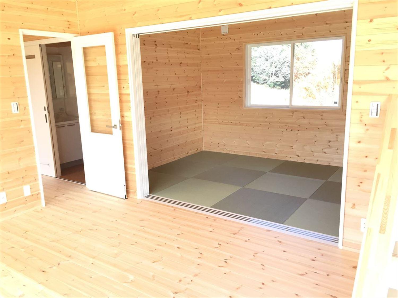 畳コーナー3|ログハウスのような木の家を低価格で建てるならエイ・ワン