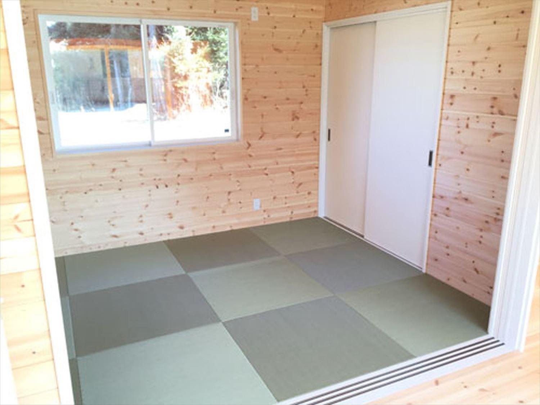 畳コーナー5|ログハウスのような木の家を低価格で建てるならエイ・ワン