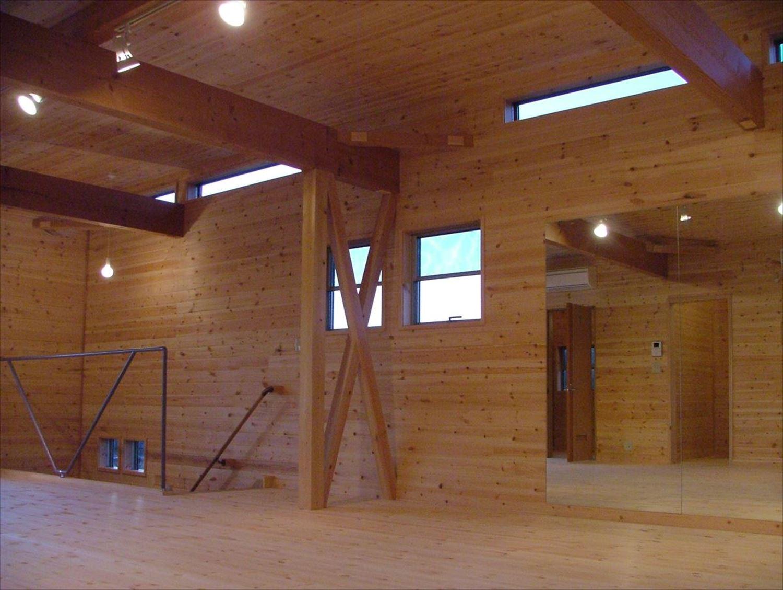 無垢材の内装|ログハウスのような木の家を低価格で建てるならエイ・ワン