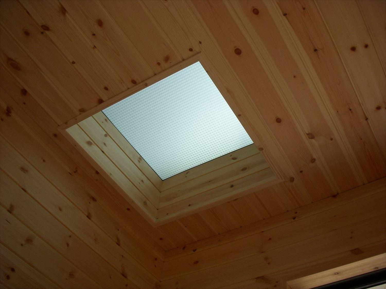 天窓|ログハウスのような木の家を低価格で建てるならエイ・ワン