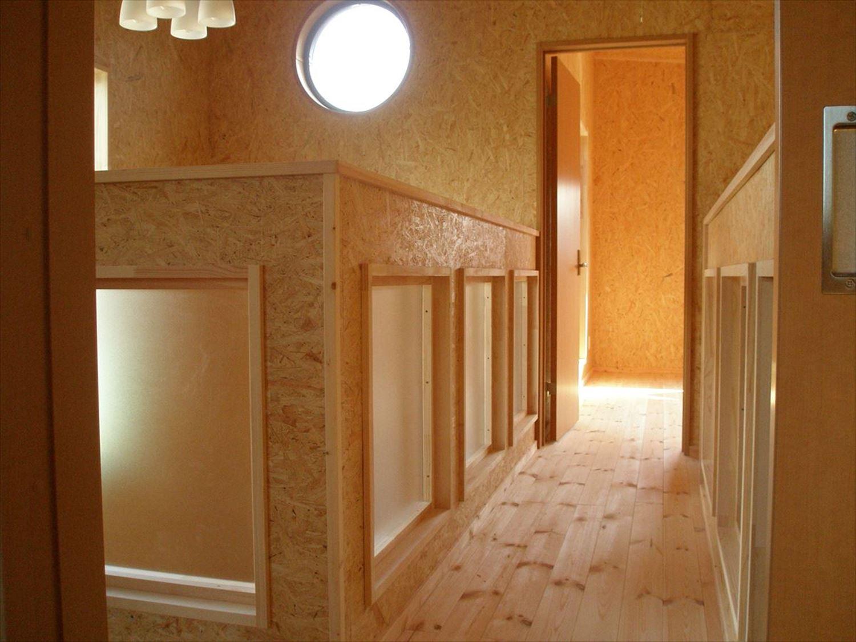 無垢材の内装9|ログハウスのような木の家を低価格で建てるならエイ・ワン