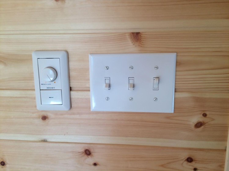 電気関係|ログハウスのような木の家を低価格で建てるならエイ・ワン