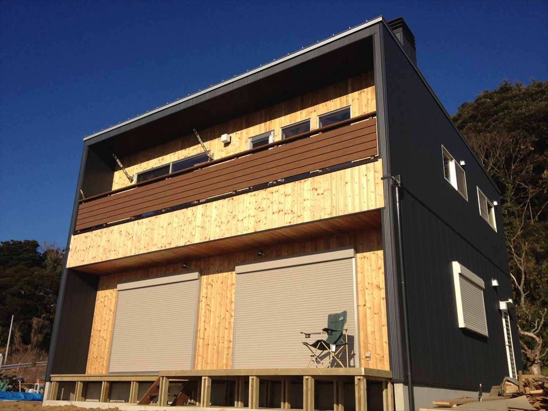 外観4|ログハウスのような木の家を低価格で建てるならエイ・ワン