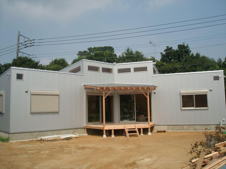 外観5|ログハウスのような木の家を低価格で建てるならエイ・ワン