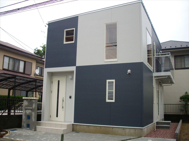 外観6|ログハウスのような木の家を低価格で建てるならエイ・ワン