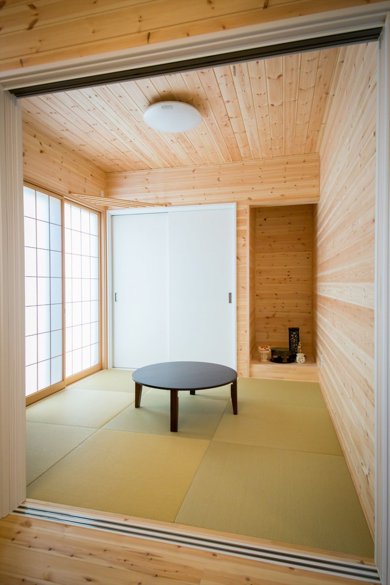 畳コーナー|ログハウスのような木の家を低価格で建てるならエイ・ワン
