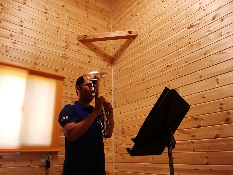 二階建ての防音室|鉾田市の注文住宅,ログハウスのような木の家を低価格で建てるならエイ・ワン