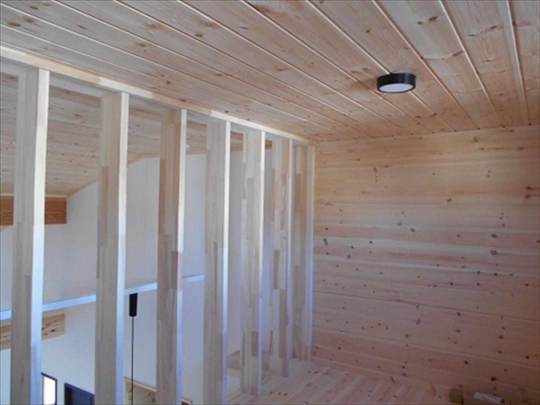 防音室で趣味を楽しむ二階建てのロフト2|鉾田市の注文住宅,ログハウスのような木の家を低価格で建てるならエイ・ワン