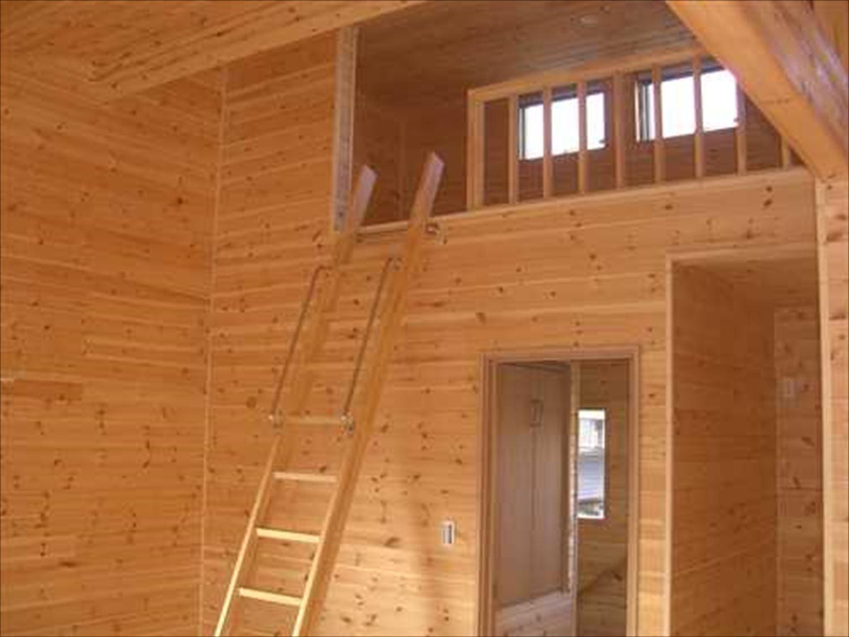 戸建て賃貸住宅のロフト|茨城の注文住宅,ログハウスのような木の家を低価格で建てるならエイ・ワン