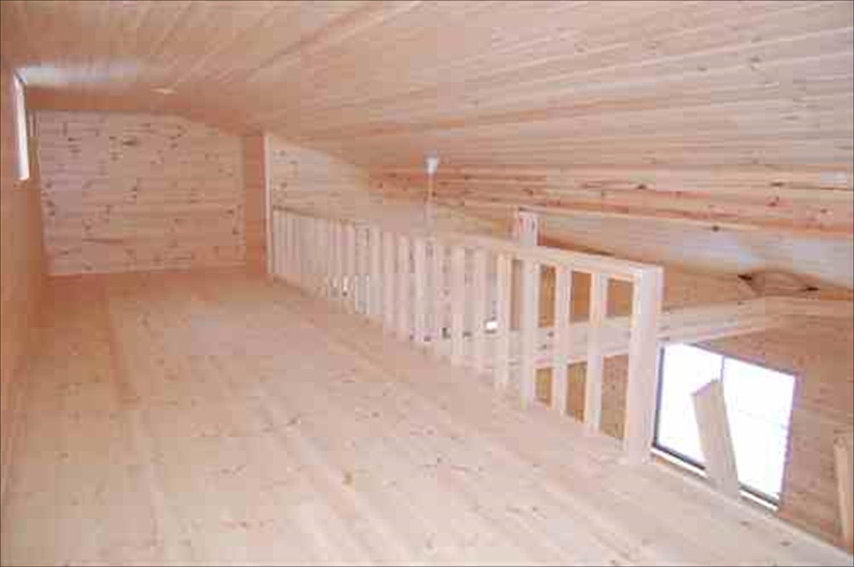 二階建て戸建て賃貸住宅のロフト|水戸市の注文住宅,ログハウスのような木の家を低価格で建てるならエイ・ワン