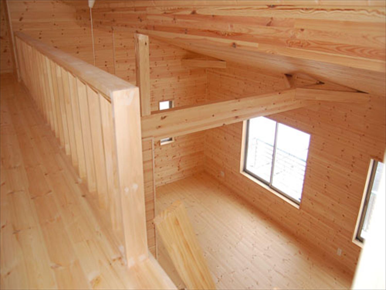 戸建て賃貸住宅の内装|茨城の注文住宅,ログハウスのような木の家を低価格で建てるならエイ・ワン