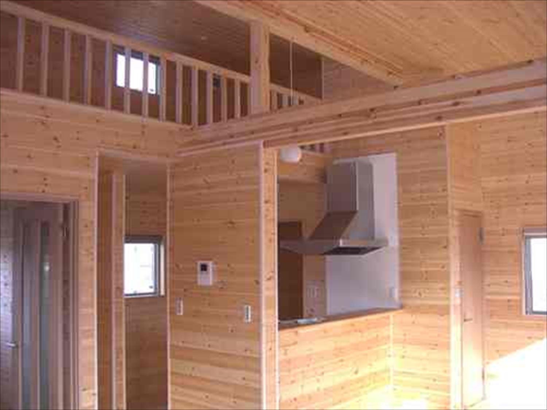 戸建て賃貸住宅の内装2|茨城の注文住宅,ログハウスのような木の家を低価格で建てるならエイ・ワン