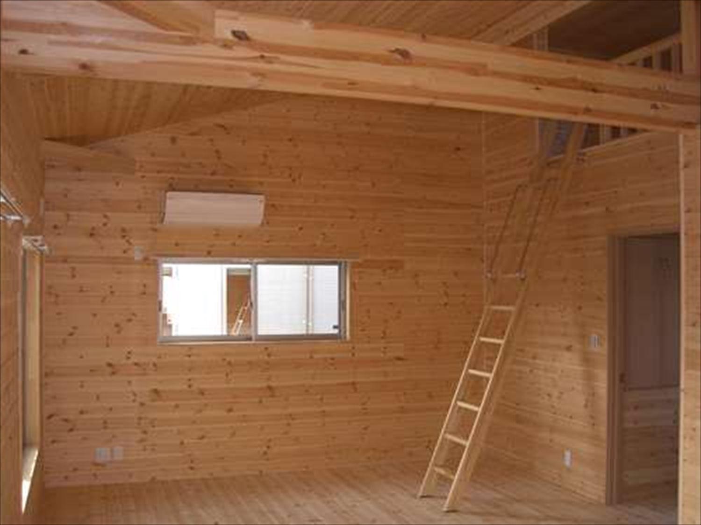 戸建て賃貸住宅の内装3|茨城の注文住宅,ログハウスのような木の家を低価格で建てるならエイ・ワン