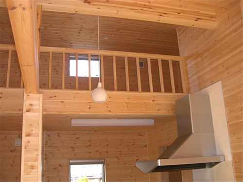 戸建て賃貸住宅の内装4|茨城の注文住宅,ログハウスのような木の家を低価格で建てるならエイ・ワン