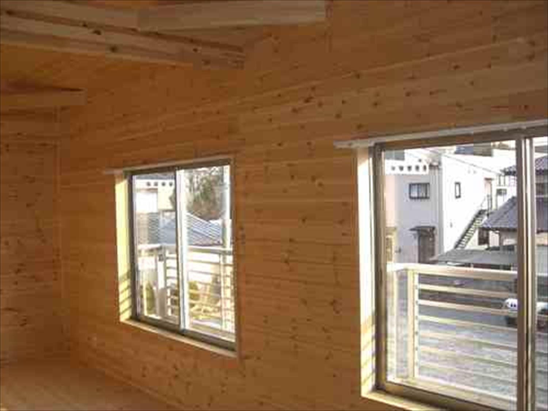 二階建て戸建て賃貸住宅の内装5|水戸市の注文住宅,ログハウスのような木の家を低価格で建てるならエイ・ワン