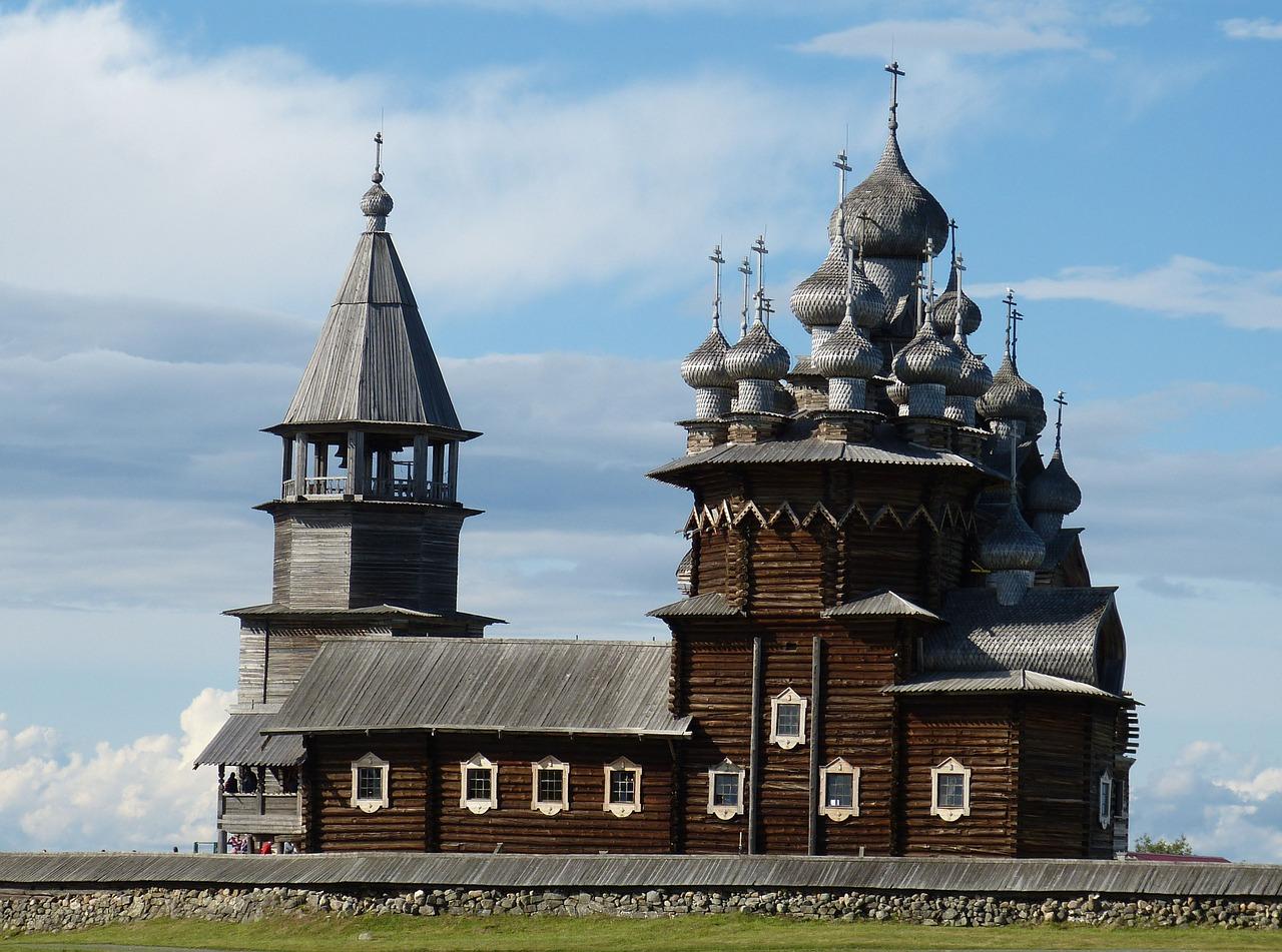 東欧風のログハウス