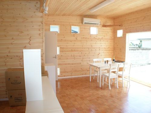 洋菓子店の内装6|伊勢崎市の注文住宅,ログハウスのような木の家を低価格で建てるならエイ・ワン