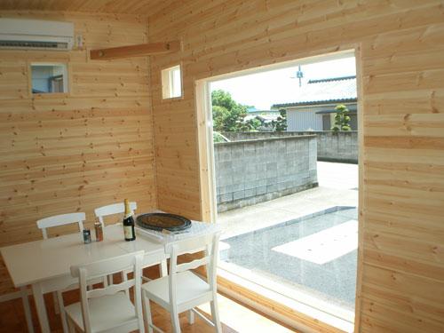 洋菓子店の内装7|伊勢崎市の注文住宅,ログハウスのような木の家を低価格で建てるならエイ・ワン