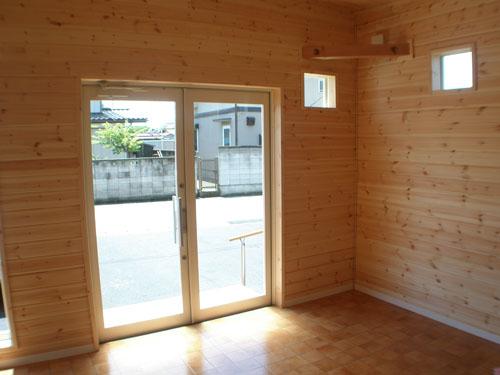 洋菓子店の内装9|伊勢崎市の注文住宅,ログハウスのような木の家を低価格で建てるならエイ・ワン