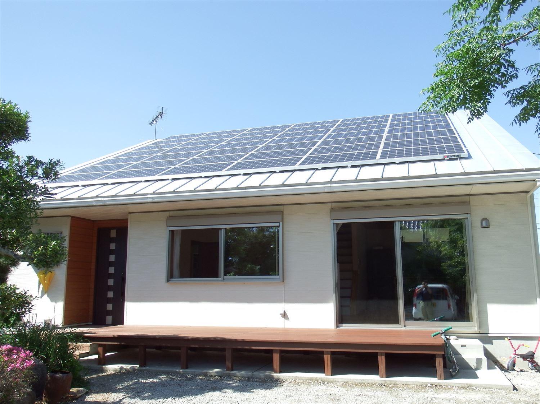 太陽光パネル搭載スマートハウス