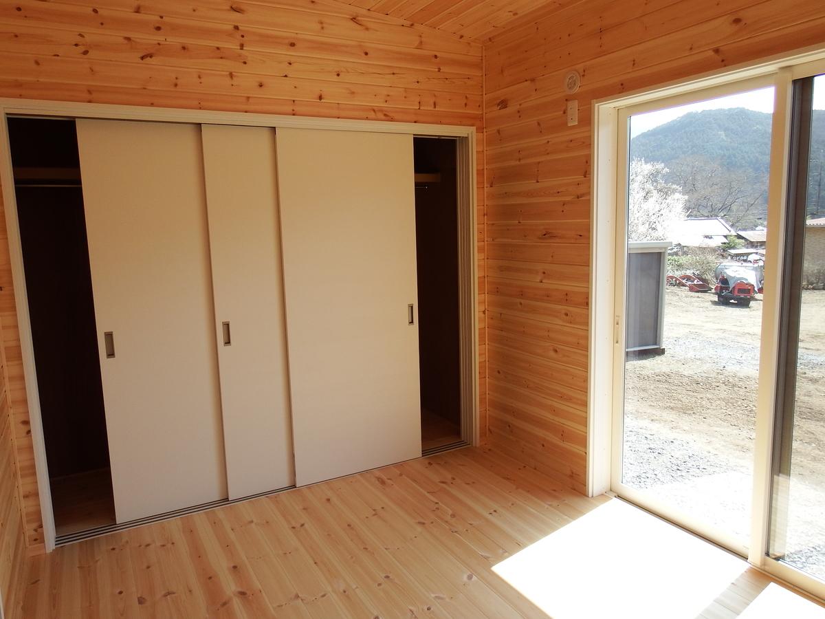 3LDK間取りの平屋の収納|栃木県鹿沼市の注文住宅,ログハウスのような木の家を低価格で建てるならエイ・ワン