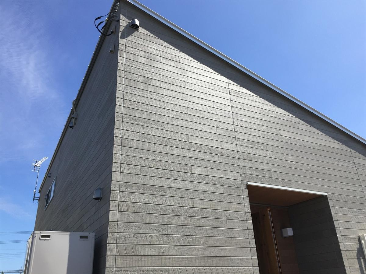 無垢材平屋の外観3|石岡市の注文住宅,ログハウスのような木の家を低価格で建てるならエイ・ワン