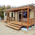 サーファーズハウス平屋のウッドデッキ|長生村の注文住宅,ログハウスのような木の家を低価格で建てるならエイ・ワン
