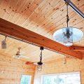 サーファーズハウス平屋の照明|長生村の注文住宅,ログハウスのような木の家を低価格で建てるならエイ・ワン