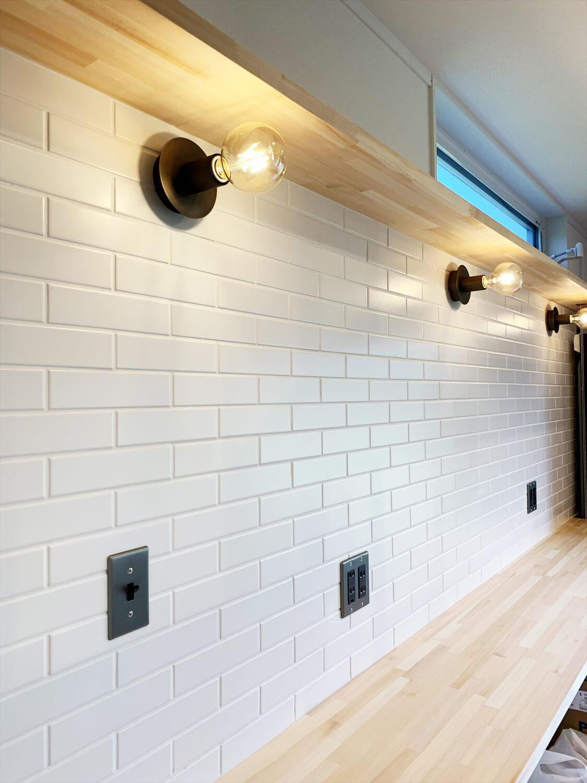 無垢材を使用した広いLDKがある長期優良住宅のブルックリンスタイル|茨城県行方市の注文住宅,エイ・ワン