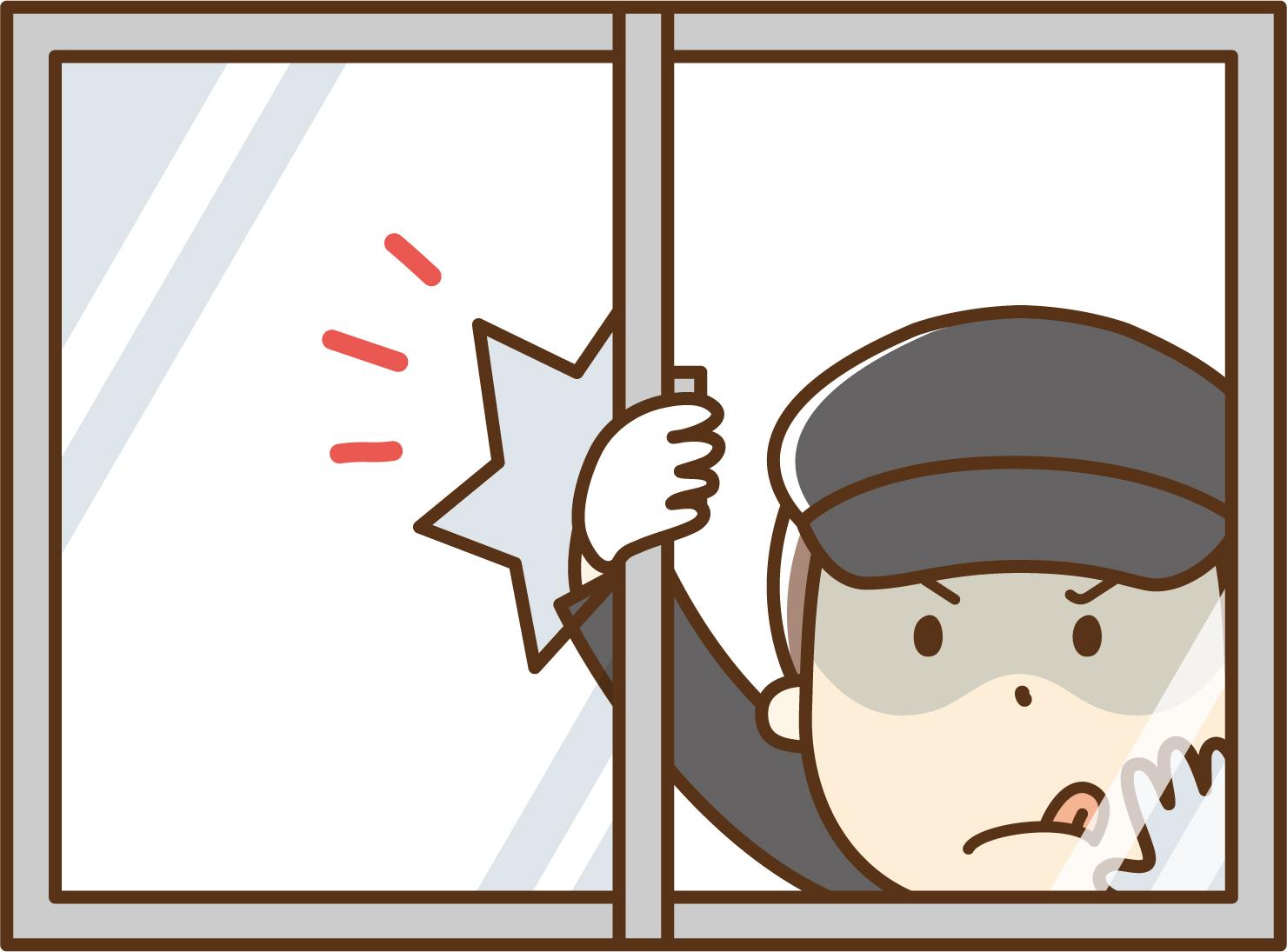 窓シャッターは防犯効果も期待できる