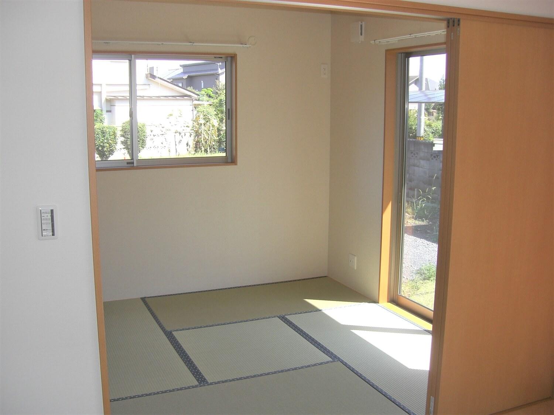 二階建ての和室|水戸市の注文住宅,ログハウスのような低価格住宅を建てるならエイ・ワン