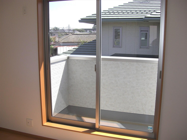 和室付き二階建てのベランダ|水戸市の注文住宅,ログハウスのような低価格住宅を建てるならエイ・ワン