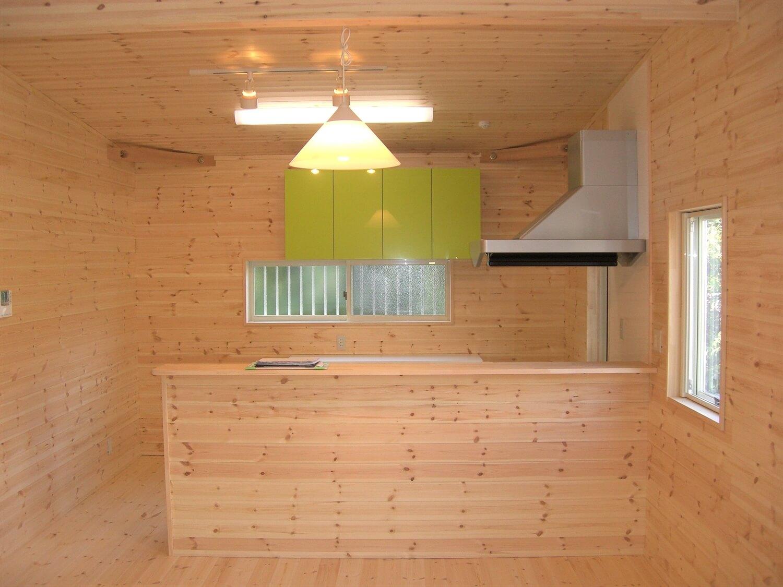 ドックスペースのある平屋のLDK|蒲郡市の注文住宅,ログハウスのような低価格住宅を建てるならエイ・ワン