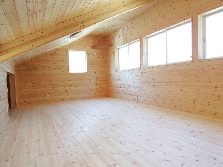 和室付き二階建ての二階|行方市の注文住宅,ログハウスのような低価格住宅を建てるならエイ・ワン