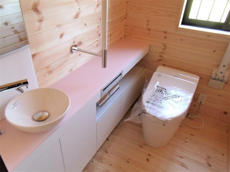 バリアフリー住宅のトイレ|つくば市の注文住宅,ログハウスのような低価格住宅を建てるならエイ・ワン