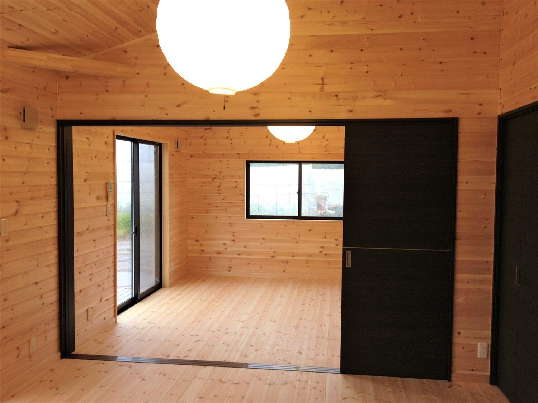 バリアフリー住宅の居室|つくば市の注文住宅,ログハウスのような低価格住宅を建てるならエイ・ワン