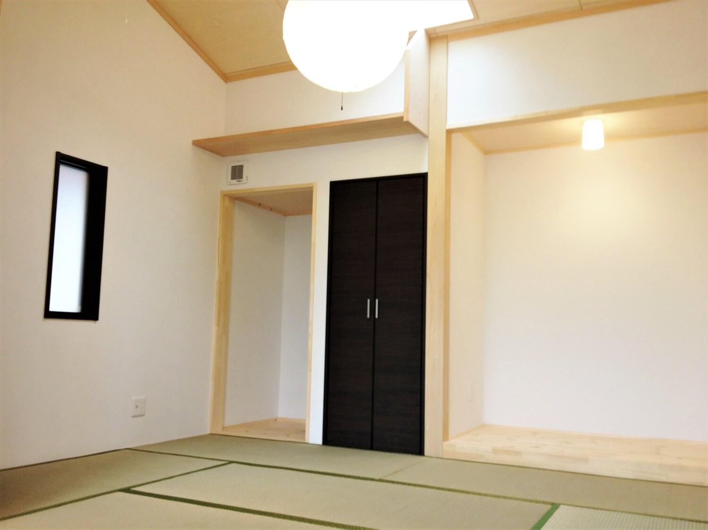 バリアフリー住宅の和室|つくば市の注文住宅,ログハウスのような低価格住宅を建てるならエイ・ワン