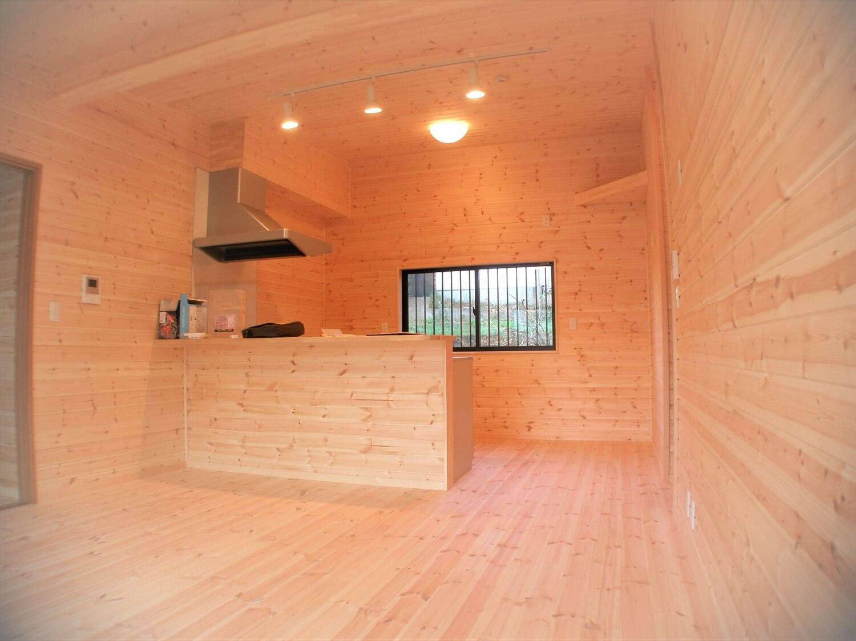 工房のある平屋のLDK|一宮市の注文住宅,ログハウスのような低価格住宅を建てるならエイ・ワン