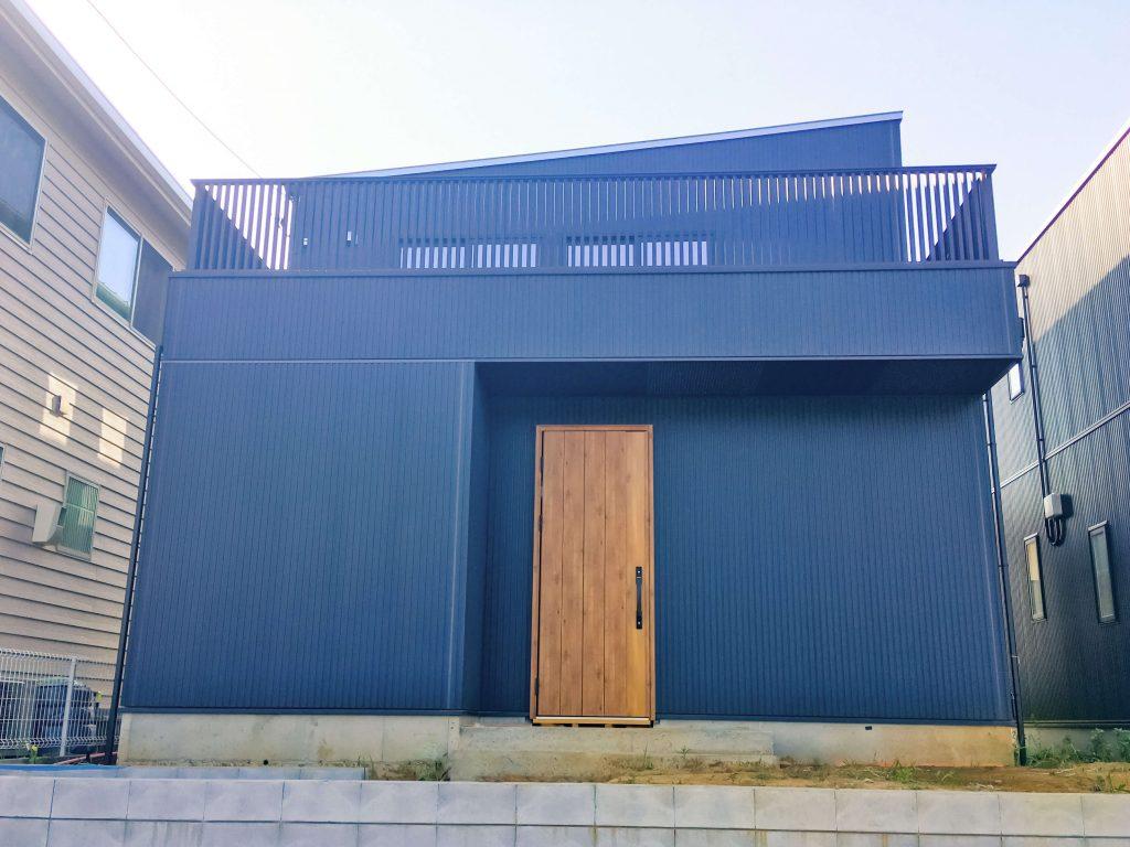 取手市の完成見学会|ログハウス風の家
