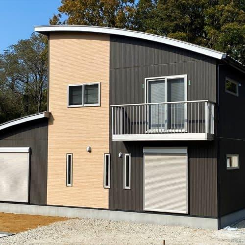 行方市の二階建て|共有型の二世帯住宅