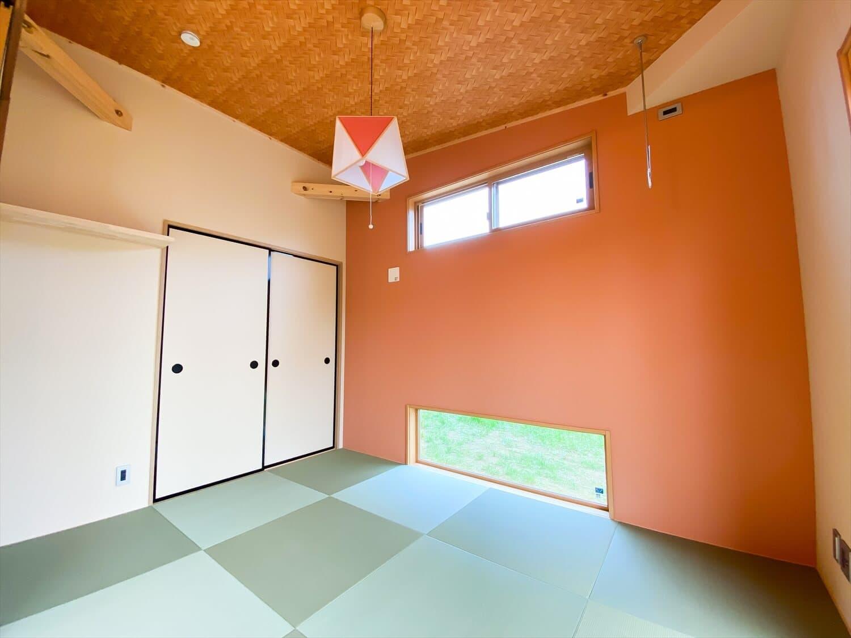 こだわりを詰め込んだ平屋の和室|石岡市の注文住宅,ログハウスのような木の家を低価格で建てるならエイ・ワン